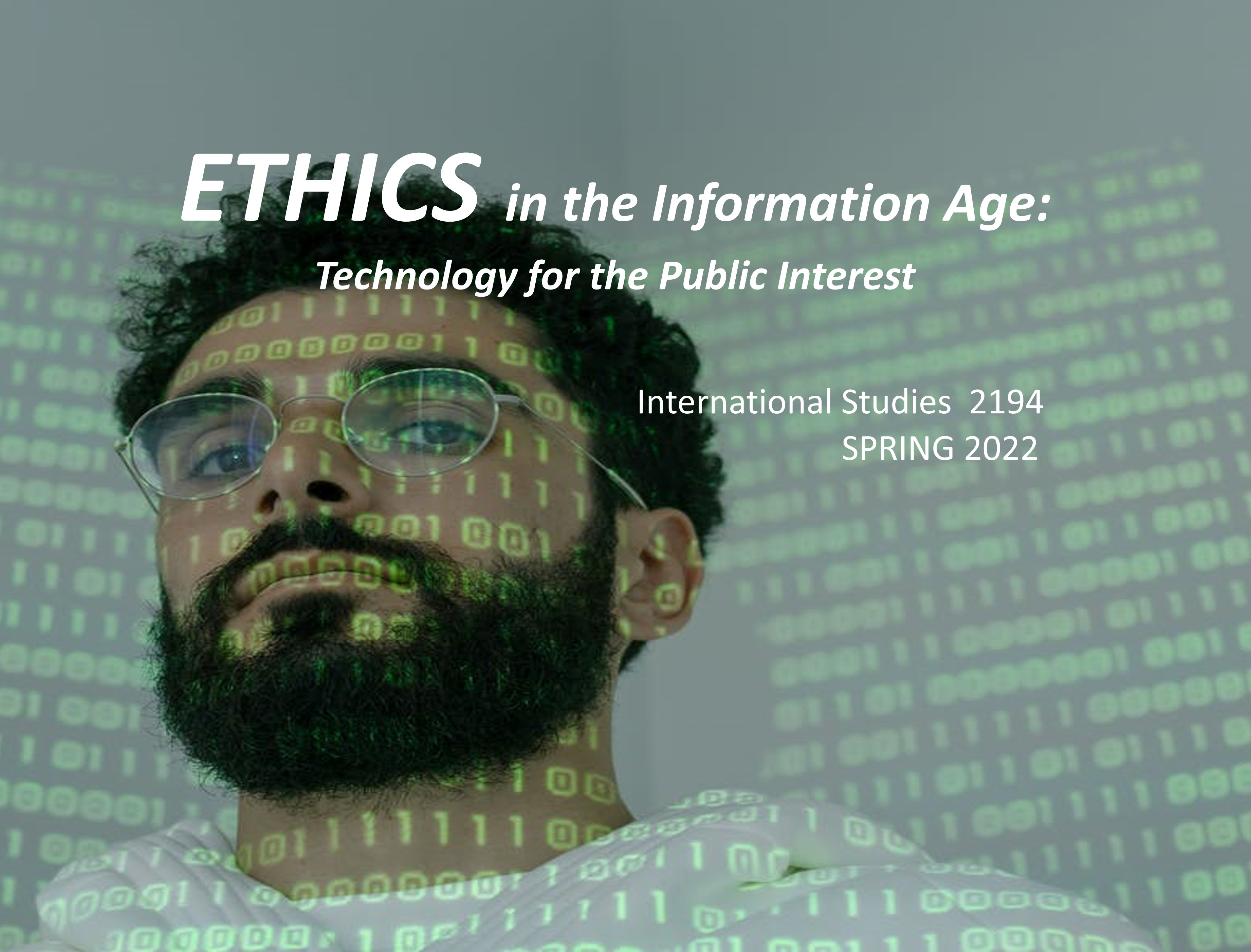 ETHICS in the Information Age:  Technology for the Public Interest Icon