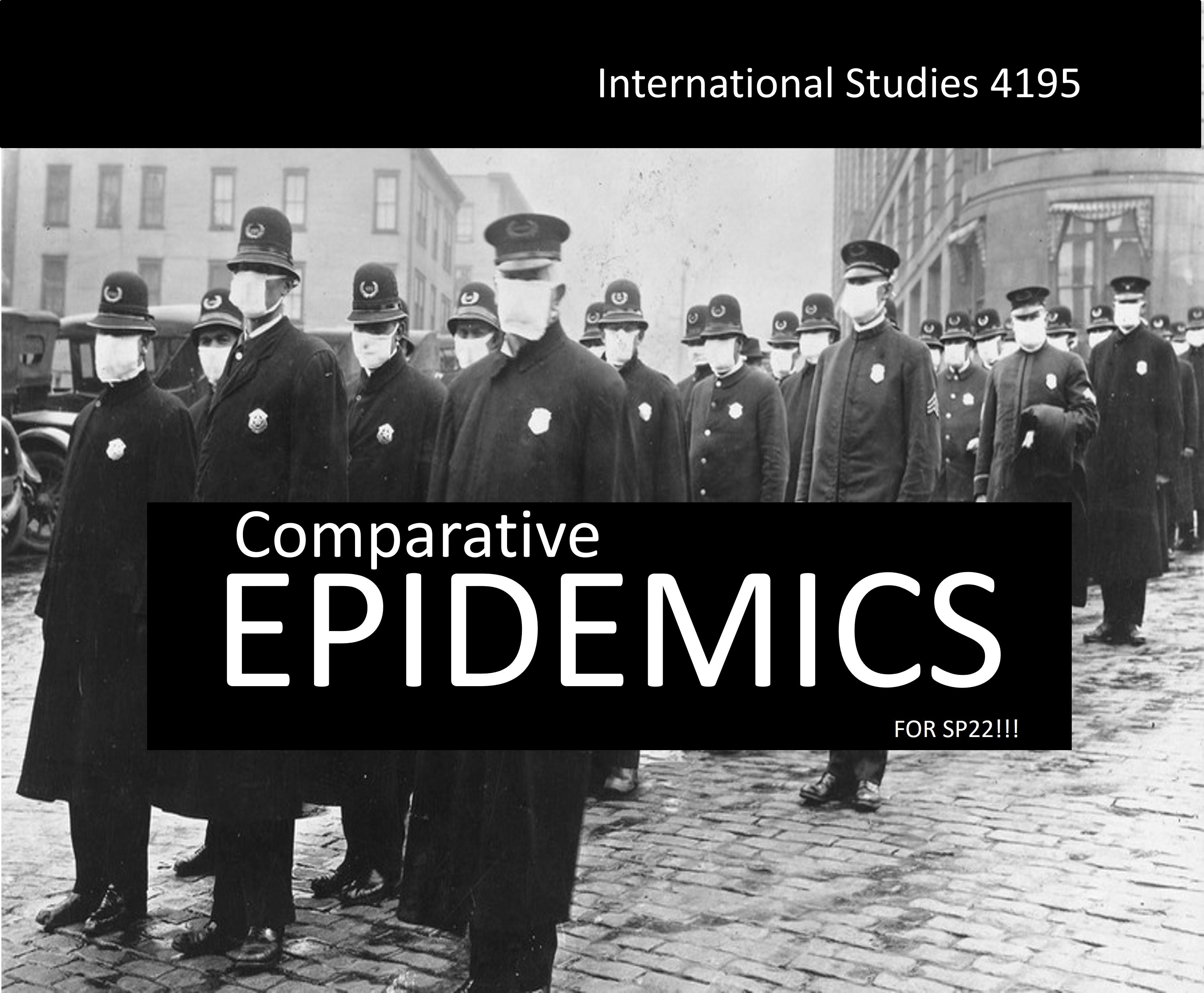 Comparative Epidemics Course flyer icon
